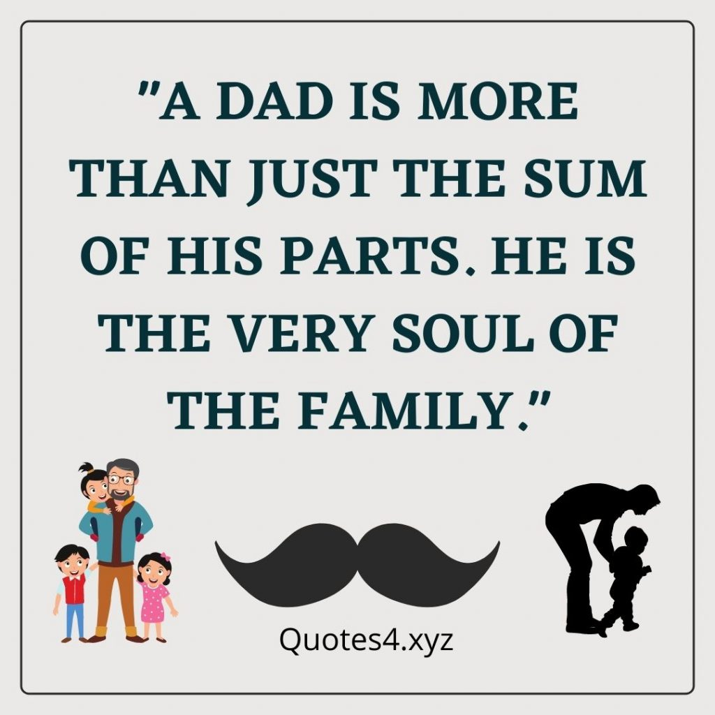 Fathers day quote Instagram post 1