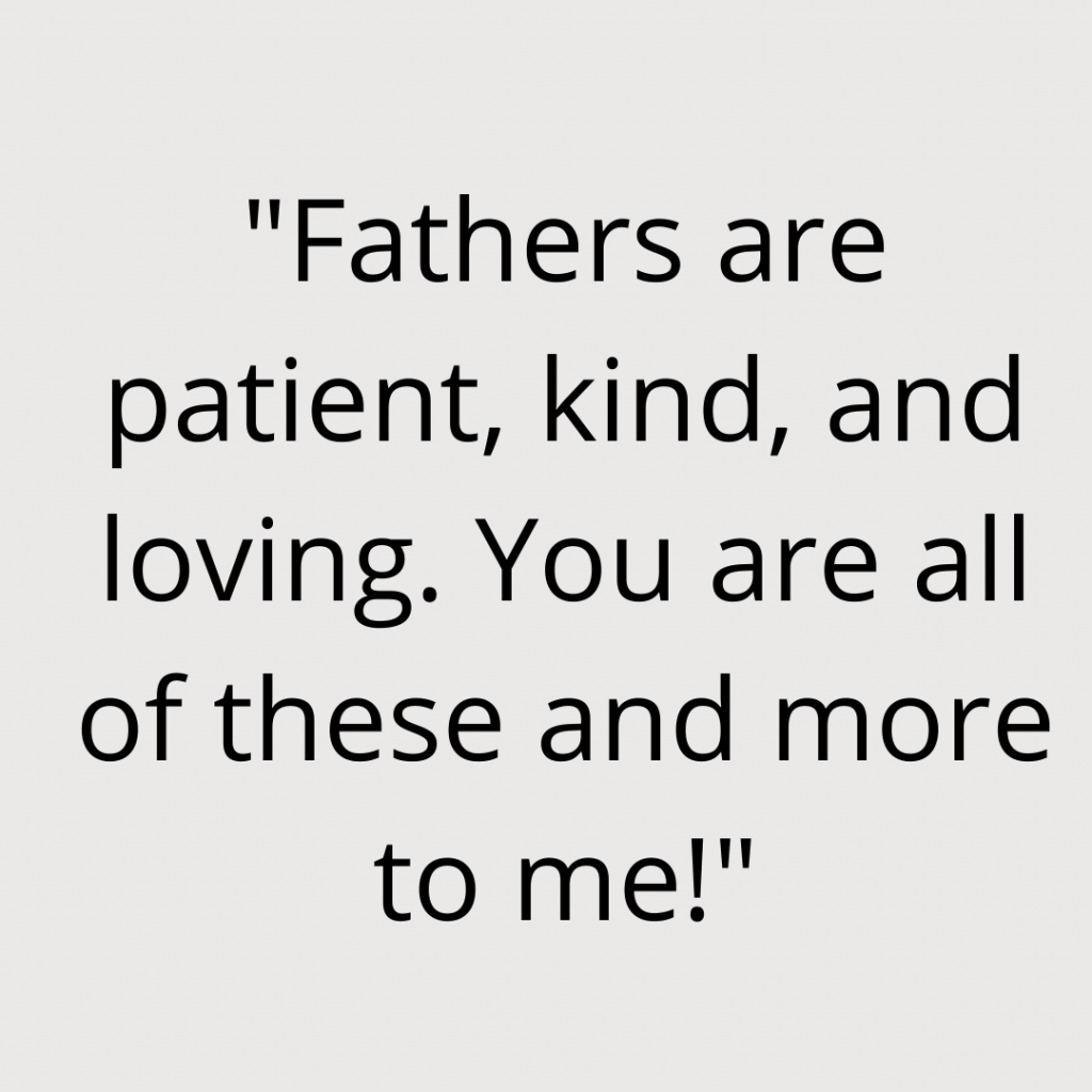 Fathers day quote Instagram post